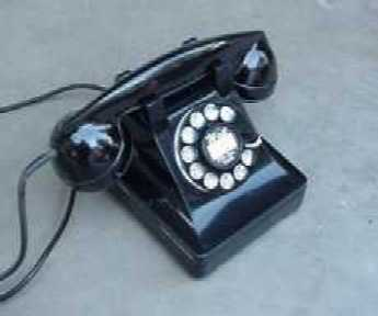 Old Western Electric Telephones Repaired